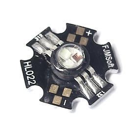 Super Led 9w Rgb 6 Terminais 2,4a Power High Bright Chip