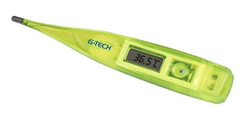 Termômetro Clínico Digital G-tech  Verde