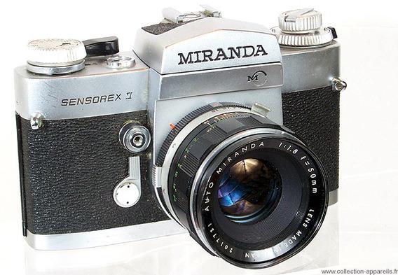 Camara Miranda Sensorex || Antigua De Coleccion