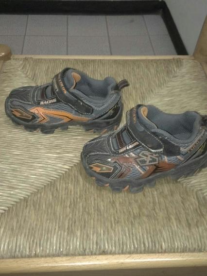 Zapatos Deportivos Skechers Originales De Niño Talla 24