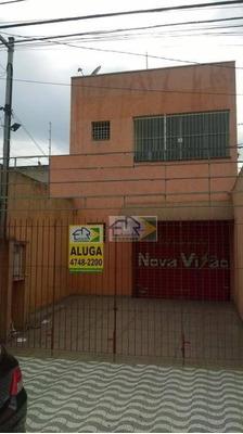 Salão Para Alugar, 90 M² Por R$ 2.400/mês - Vila Figueira - Suzano/sp - Sl0070