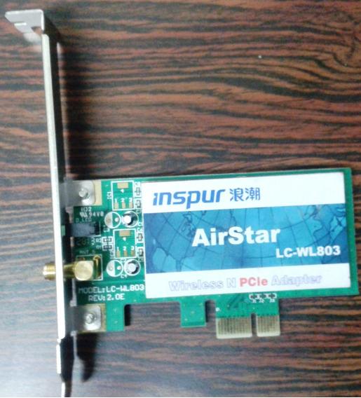 Tarjeta De Red Inalambrica Inspur Airstar Lc-wl803