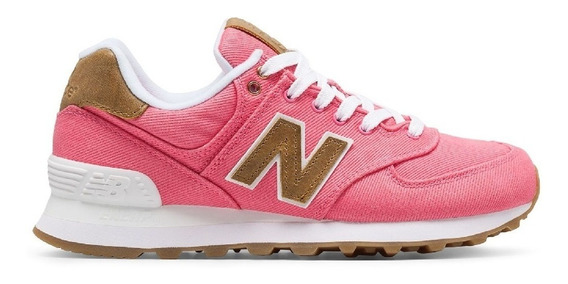 Zapatillas New Balance Rosas Dama Wl574cda