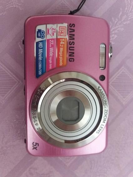 Camera Sansung Pl20 Com Carregador E Bolsa