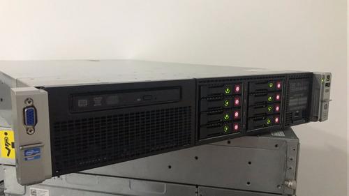 Servidor Hp Dl380 P G8 Intel Octa 64gb Ram 2x Hd 600sas