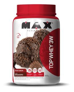 Top Whey Max Mais Sabor (cookies & Cream)