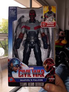 Muñeco Falcon De Marvel Civil War Capitan America