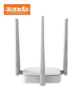 Router Wifi Inalámbrico Tenda N318 300 Mbps 1wan + 3lan