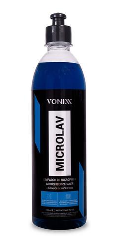 Imagem 1 de 1 de Microlav Limpador De Microfibra 500ml Vonixx