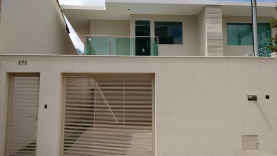 Casa Geminada Com 4 Quartos Para Comprar No Castelo Em Belo Horizonte/mg - 5057