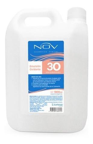Nov Emulsión Oxidante 30 Volumenes Bidon 4800 Ml