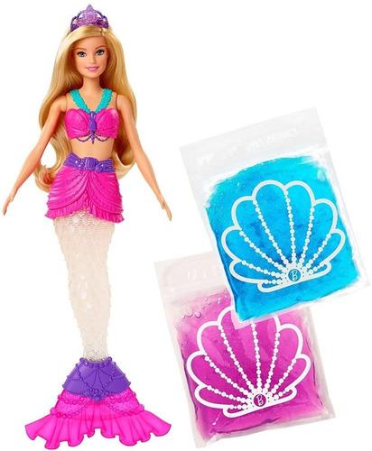 Muñeca Barbie Sirena Dreamtopia Slime