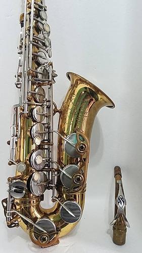 Selmer Mark Vi (six) Alto, 115k, Francês Original, Excelente
