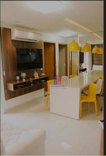 Apartamento Com 2 Dormitórios À Venda, 54 M² Por R$ 280.000 - Edifício Residencial Tatiana - Catharina Zanaga - Americana/sp - Ap1029
