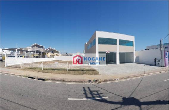Salão Para Alugar, 380 M² Por R$ 15.000,00/mês - Urbanova - São José Dos Campos/sp - Sl0445