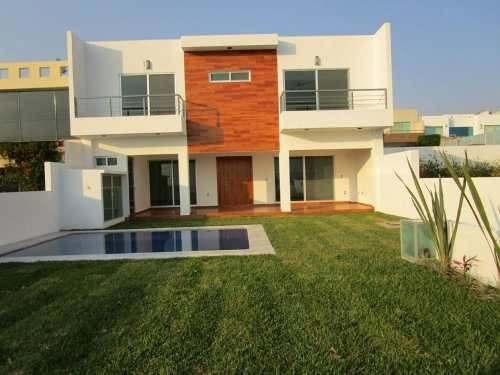 Casa Minimalista Al Sur De Cuernavaca. ¡¡nueva!!
