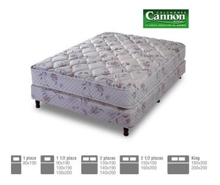 Sommier Cannon Resortes Platino 140x190x27 C: 2922*