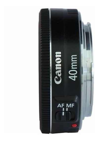 Lente Canon Ef 40mm F/2.8 Stm - Garantia Sem Juros