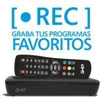Ghia Sintonizador Digital Para Tv Con Grabacion En Usb Gac-0