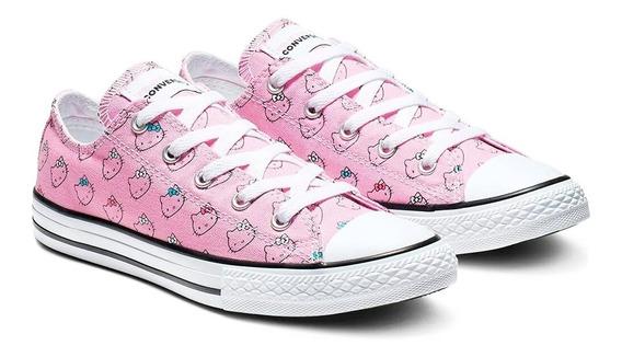 Tenis Converse Hello Kitty Chuck Taylor All Star Prism Niña