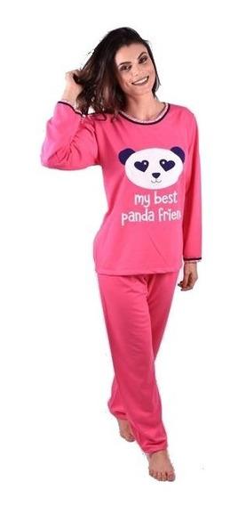Pijama Infantil Feminino Calça E Camisa Manga Longa Ref 151