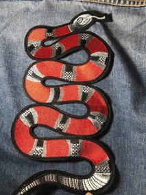 2 Unidades Parche Gucci Snake Serpiente Hypebeast Supreme