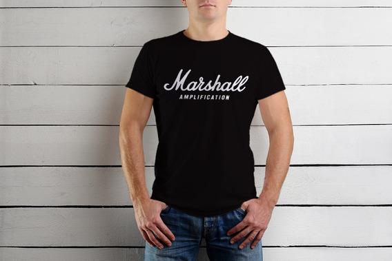 Playera Marshall Amplifica Guitarrista Músicos Envio Gratis