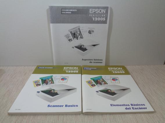 Manuais Usuário Scanner Epson 1200s - Português - Inglês