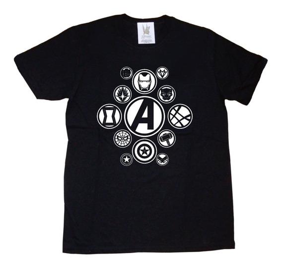 Remeras Civil War Capitan América Iron Man Thor Avengers