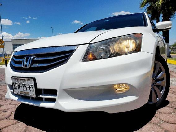 Honda Accord 2012 3.5 Ex Sedan V6 Piel Abs Qc Cd Mt