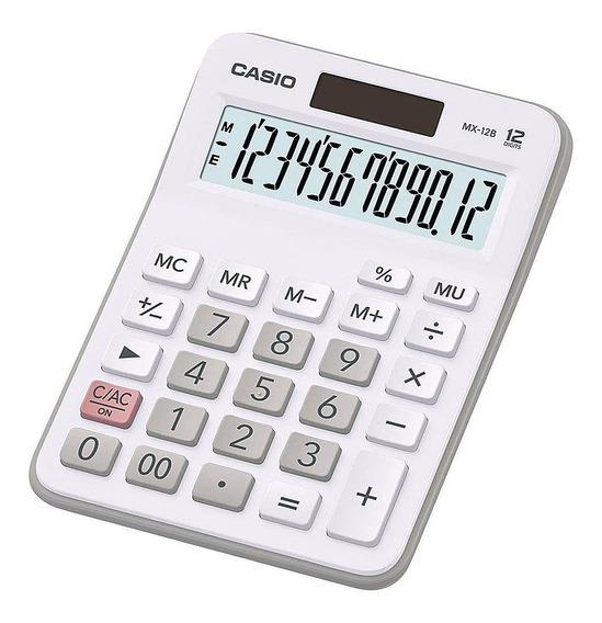Calculadora Mesa Mx - 12b 12 Dígitos Casio Original