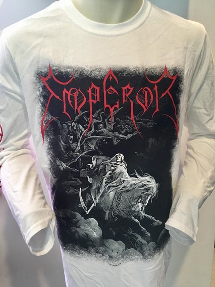 Emperor Rider 2019 White Long Sleeve T-shirt Merch Offic