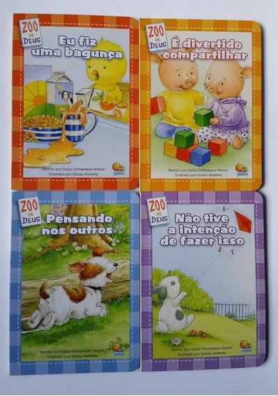 Coleção Zoo De Deus - Livros Literatura Infantil - Cristão