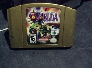 The Legend Of Zelda Majora´s Mask Nintendo 64 Clásico! Aprov