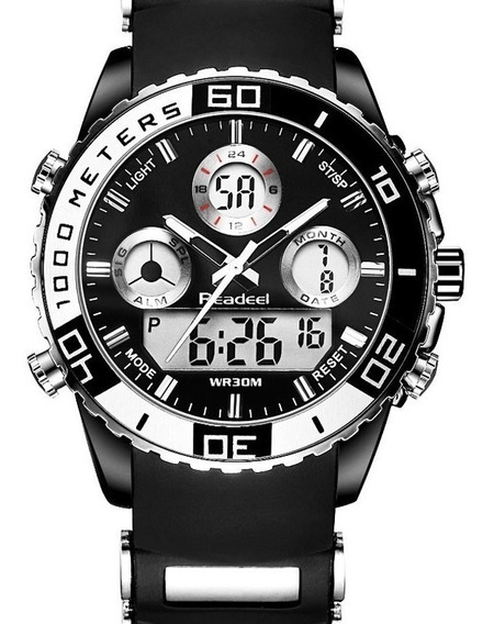 Relógio Pulso Readeel Masculino 8084 Militar Frete Grátis