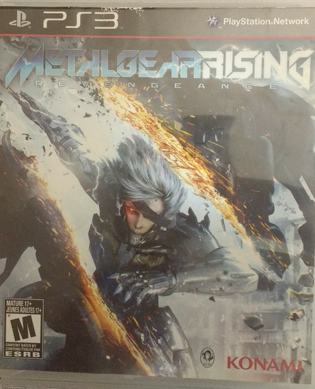 Metal Gear Rising Mídia Física Cd Para Ps3