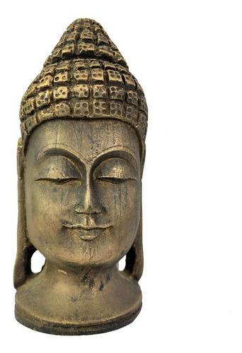 Estatueta Cabeça Buda Hindu 232 A22