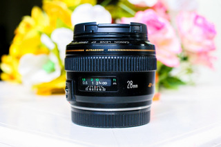 Lente Canon Ultrasonic 28mm 1.8f Ef