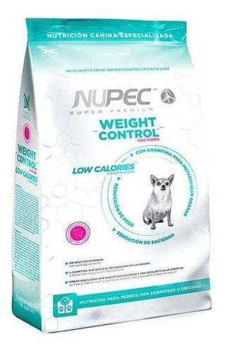 Imagen 1 de 3 de Croquetas Nupec Weight Control Razas Pequeñas 8kg
