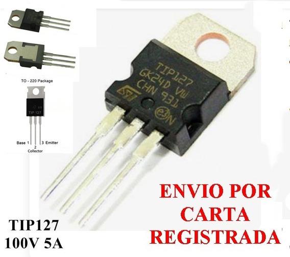 Tip127 - Transistor Pnp - Kit 10 Peças