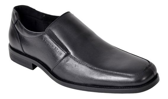 Zapato Para Vestir Hombre De Cuero Stork Man Art: Jenaro