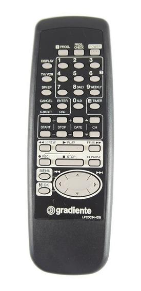 Controle Remoto Video K7 Gradiente Varios Modelos Original