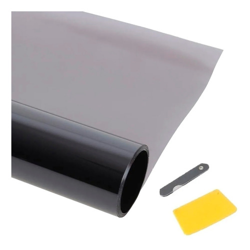 Polarizado Auto Laminas Rollo 0.50 X 3mts Negro Intermedio