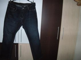 Calça Jeans Calvin Klein - Straightcut- Made In Egito.