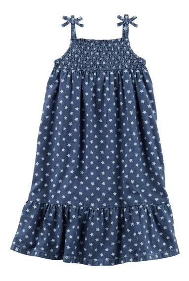 Vestido De Jean Carters Nena Talle 4t Cartersbabypilar