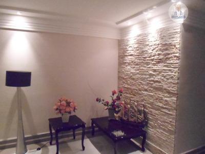 Apartamento Com 3 Dormitórios À Venda, 160 M² Por R$ 600.000 - Canto Do Forte - Praia Grande/sp - Ap2847