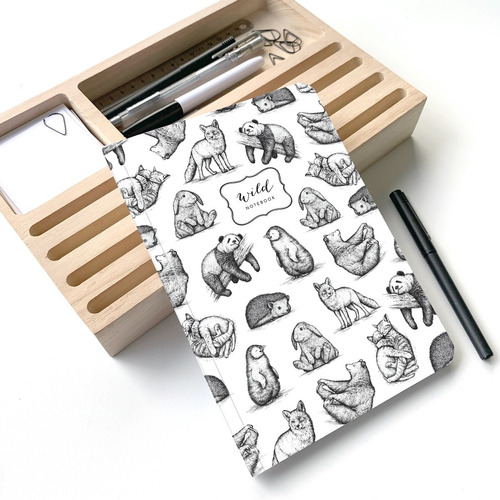 Cuaderno Rayado Wild A5 - Mil Letterpress