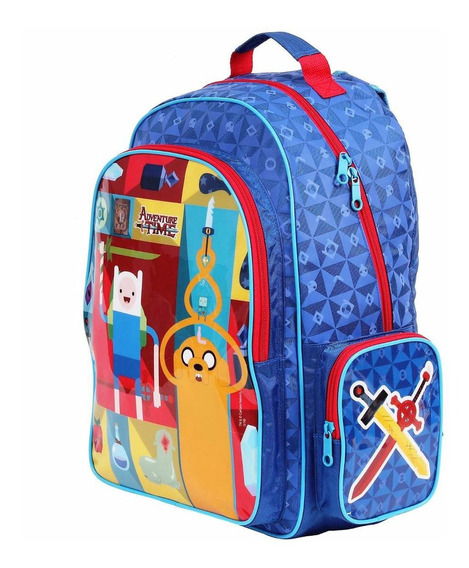 Mochila Escolar Hora Da Aventura Dark Blue M 49020