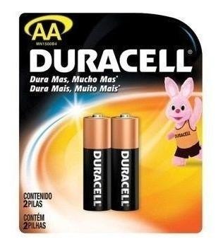 Pilas Baterias Aa  Pilas Alkalinas Duracell 2 Blister De 2