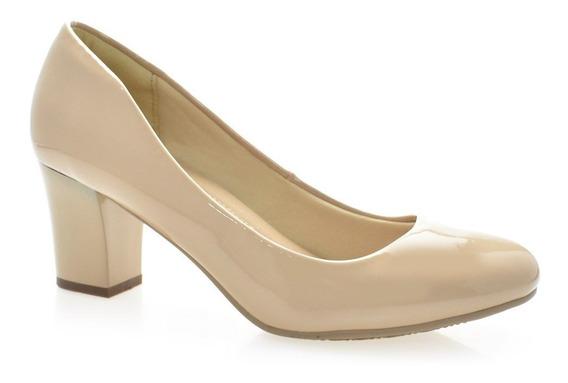 Sapato Scarpin Salto Médio Facinelli 62801